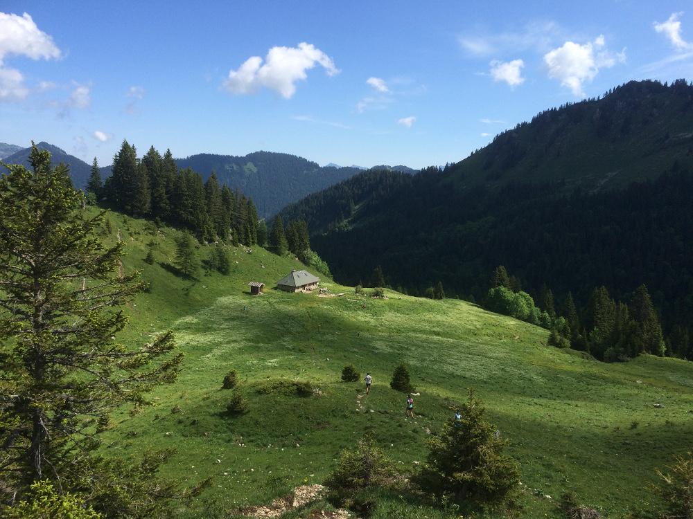Descente vers le refuge de Chavan