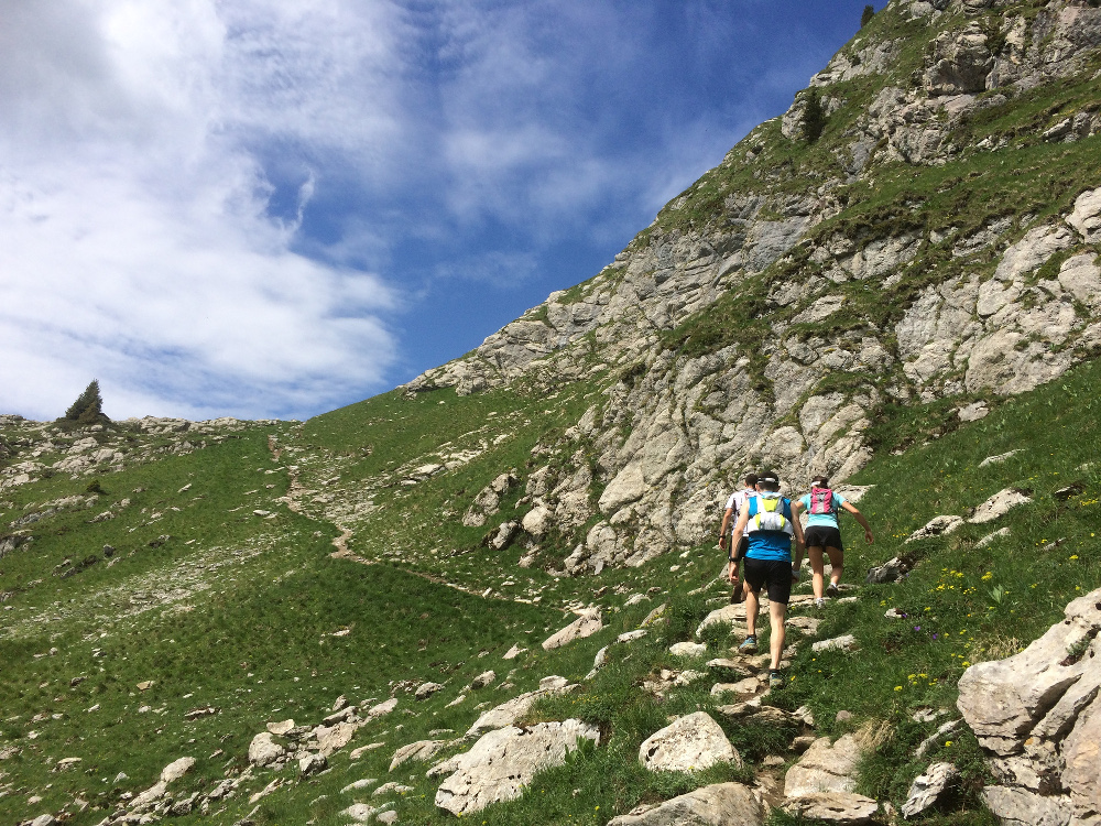 Praz de Lys, territoire de trail - Parcours Chavasse et Chalune