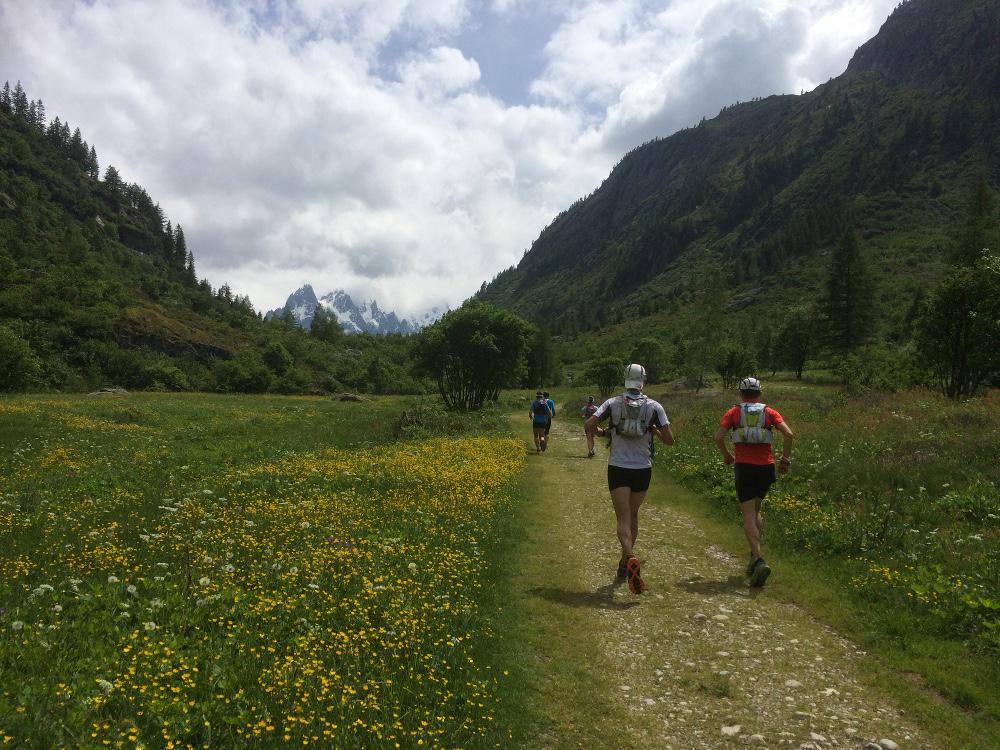 En direction du Col des Montets