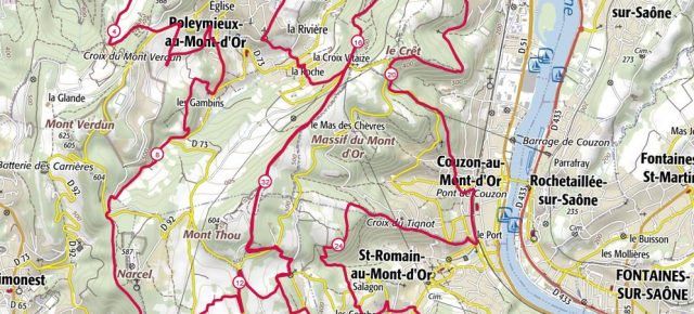 Trail des Cabornis : les Monts d'Or en long en large et en travers !