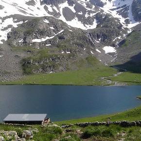 Tour du Lac de la Muzelle - lac du Lauvitel