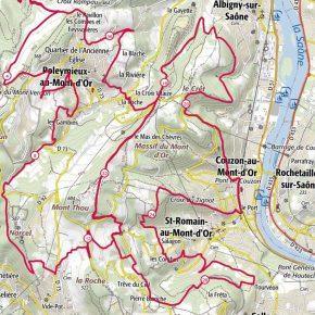 Trail des Cabornis : les Monts d'Or en long en large et en travers !